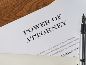 Legal Giving Someone Power Of Attorney